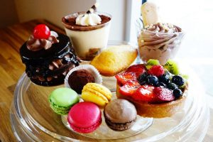 Desserts from Rosallie Le French Cafe