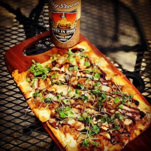Flatbread and Beer from Chef's Table at the Edgewater & The Tasting Room