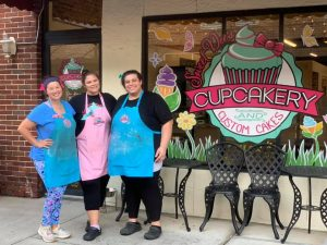 Smiling Staff from Sweet Dee's Cupcakery and Custom Cakes