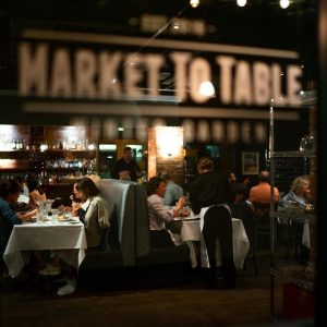People Dining at Market To Table