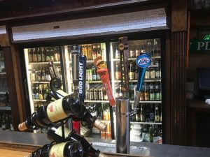 Beer Taps at Moon Cricket Grille