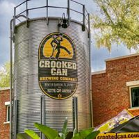 Exterior of Crooked Can Brewing Company at Plant Street Market