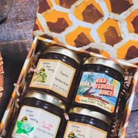 Honey for Sale from Wild Florida Honey at Plant Street Market