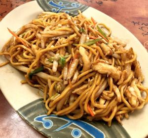 Chinese Meal at China Panda