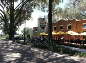 Exterior of Crooked Can Brewing Company