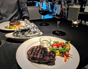 Steaks from Matthew's Steakhouse