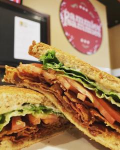 Sandwich from Pammie's Sammies