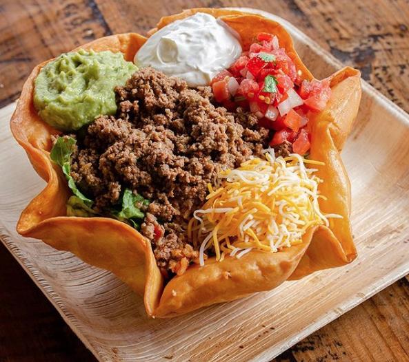 Taco Salad Bowl from The Whole Enchilada