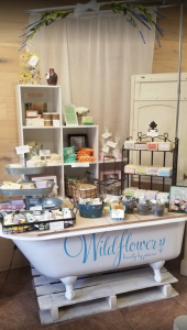 Items for Sale at Wildflower Beauty by Jessica