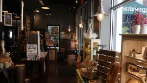 Interior of Silver Shekel Shop