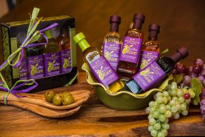 Bottles of Olive Oil from The Sacred Olive