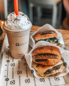Burger and a Shake from BurgerFi