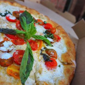 Pizza from Michael's Ali Coal Fired Pizza at Plant Street Market