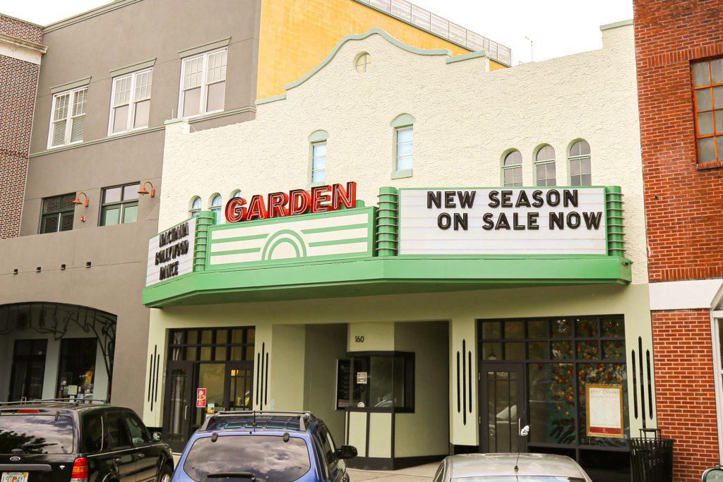 Exterior of the Garden Theatre