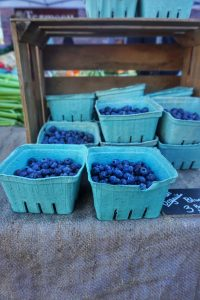 Blueberries from the Farmers Market