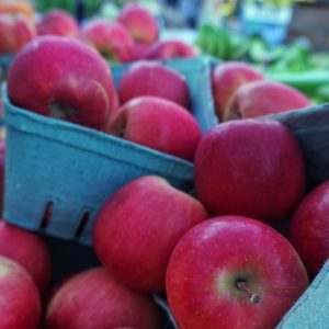 Apples from the Farmers Market
