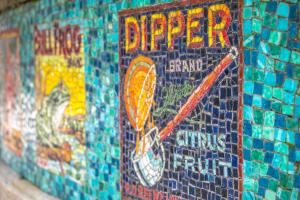 Mosaic Signs in Centennial Park