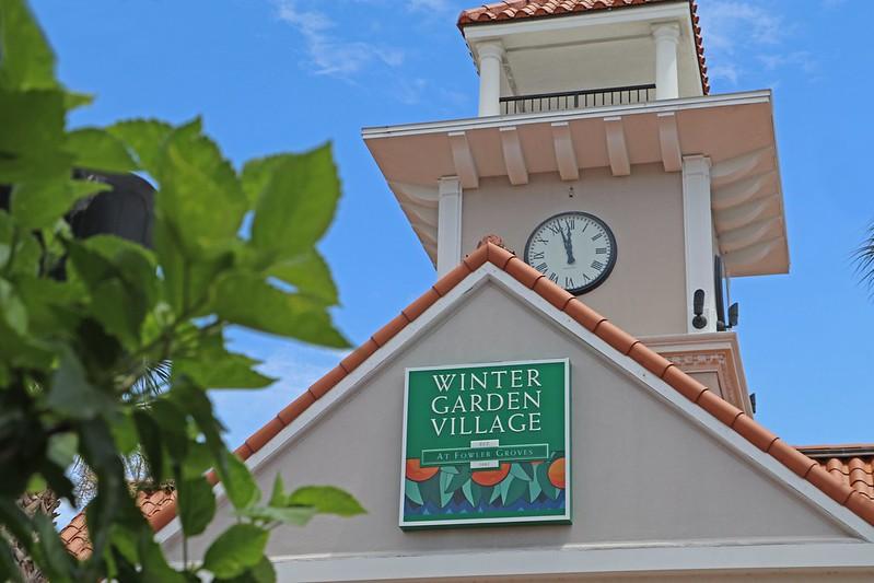 Winter Garden Village Clock Tower