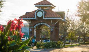 Winter Garden Clock Tower