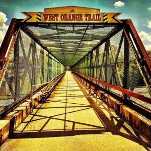 Bridge on the West Orange Trail