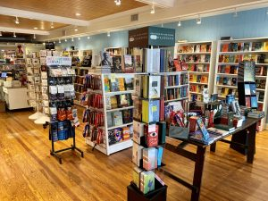 Interior of the Writers Block Bookstore