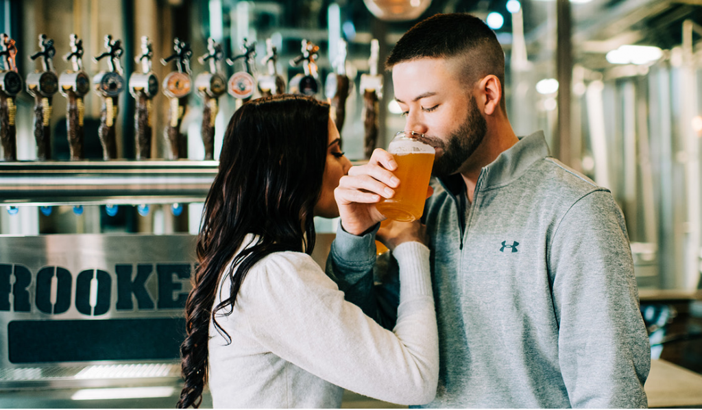 Visit your Local Brewery  for Valentine's Day in Historic Downtown Winter Garden