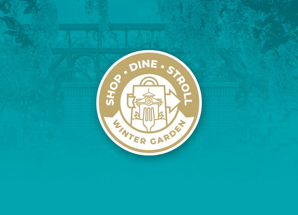 Shop, Dine and Stroll Logo