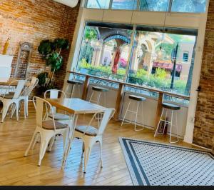 Three Birds Cafe - Interior Facing Out