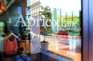 Apricot Lane storefront window
