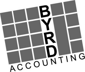 Byrd Accounting Logo in Black and White